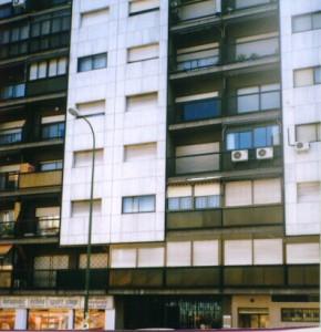 aire acondicionado en fachada