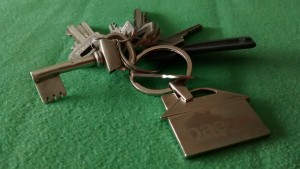 llave de la finca arrendada