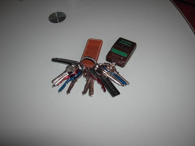 copias de llaves de la nueva cerradura