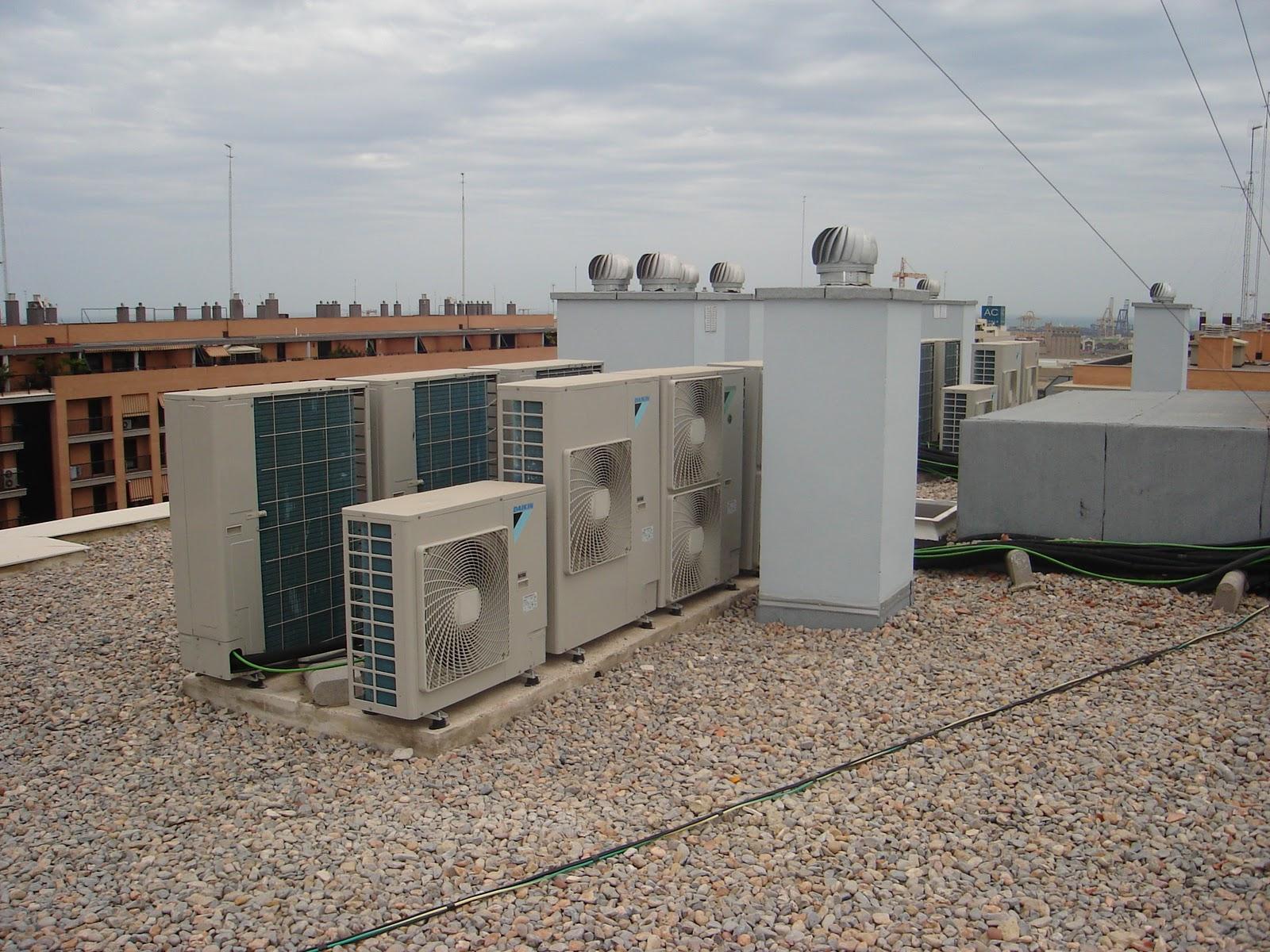 instalaci n de aire acondicionado en el tejado