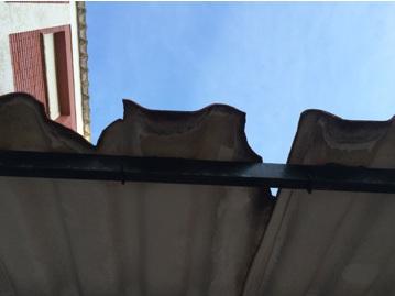 techo del patio interior Puertorealhoy.es